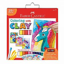 Unicorn Coloring with Clay