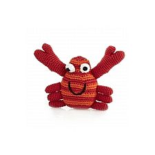 Crab Rattle Red