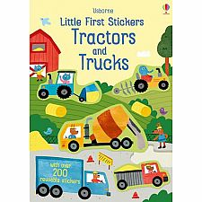 Little Sticker Tractors and Trucks