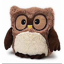 Brown Hooty Owl Warmies