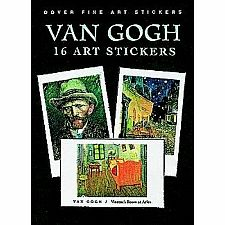 16 Van Gogh Stickers
