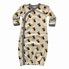 Bee Gown 3-6M