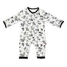 Animal Safari Coverall 12-18M