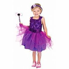 Violet Flower Fairy Dress