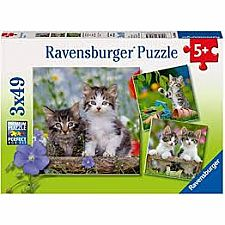 Cuddly Kittens - 49 Pieces