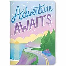 Adventure Awaits Jot it