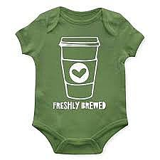 Freshly Brewed Onesie 6-12m