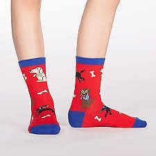 Kid's Best Friend Junior Crew Socks
