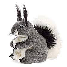 Abert's Squirrel Puppet