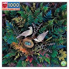 Birds in Fern - 1000 Piece
