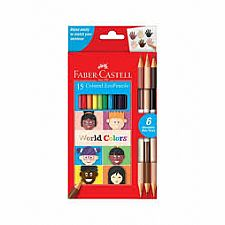 World Colors 15 Pencil Set