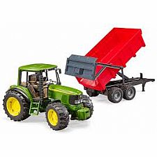 John Deere and Tipping Trailer