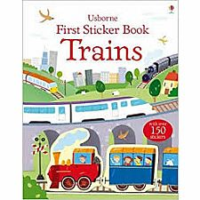 First Sticker Book: Trains