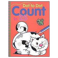 Dot-to-Dot Count to 25