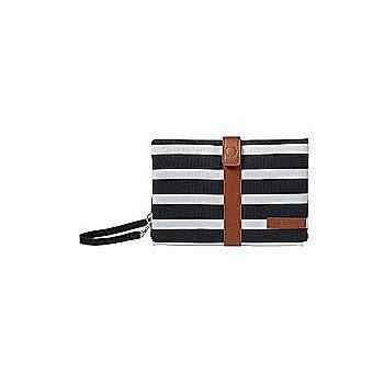 Black & White Striped Changing Clutch