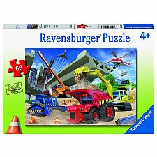Construction Trucks - 60 Piece