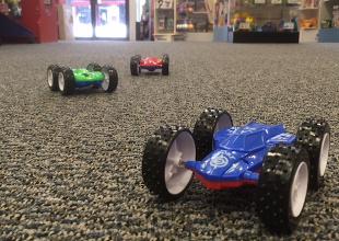 B Carpet and cars