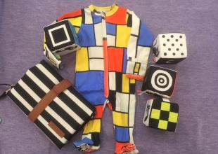 A Mondrian Romper